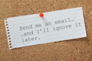 Email Marketing Broken