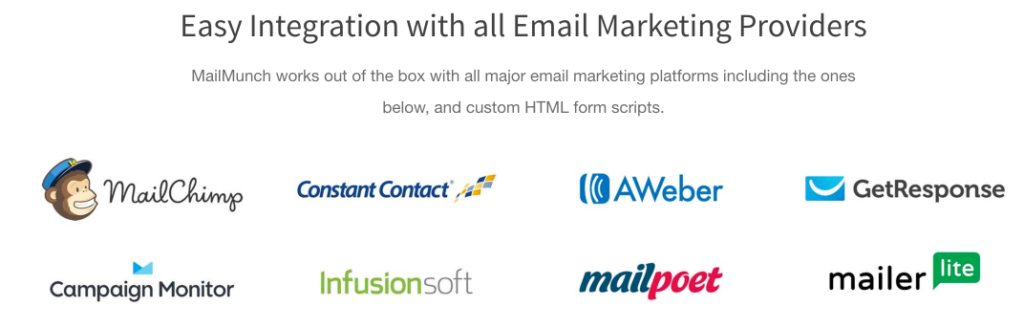 MailMunch Integration
