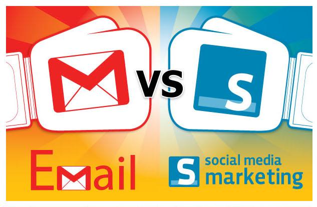 email marketing vs social media